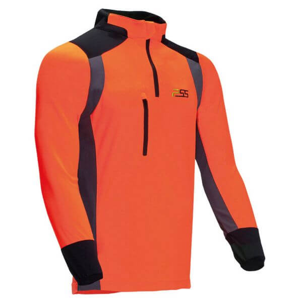 Funktionsshirt PSS X-treme Skin (orange/grau)
